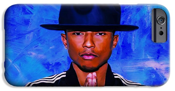Hightower iPhone Cases - Pharrell Williams Peace on Earth iPhone Case by Brian Reaves