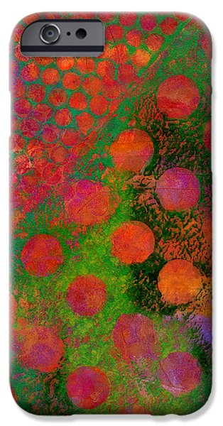 Abstract Movement Mixed Media iPhone Cases - Phase series - Direction iPhone Case by Moon Stumpp