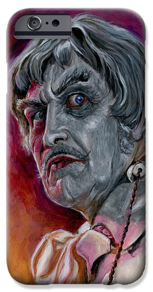 PHIBES iPhone Case by Mark Tavares