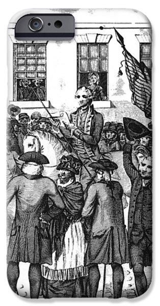 American Revolution iPhone Cases - Philadelphia, 1776 iPhone Case by Granger