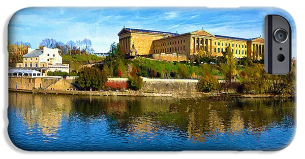 Recently Sold -  - River iPhone Cases - Philadelphia Art Museum  2009 iPhone Case by Bill Cannon