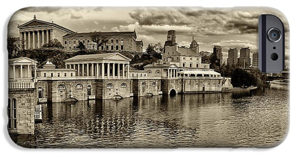 City Scape Photographs iPhone Cases - Philadelphia Art Museum 8 iPhone Case by Jack Paolini