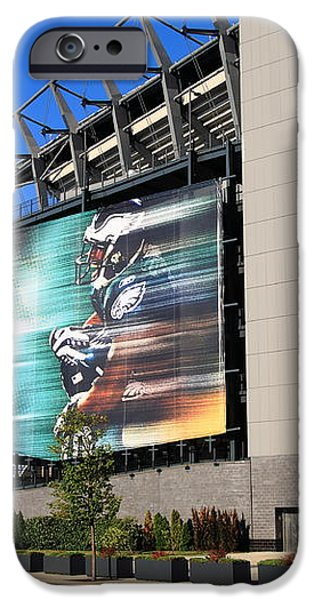 Philadelphia Eagles - Lincoln Financial Field iPhone Case by Frank Romeo