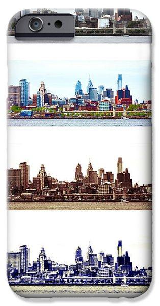 Philadelphia Four Seasons iPhone Case by Olivier Le Queinec