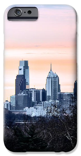 Philadelphia from Belmont Plateau iPhone Case by Bill Cannon