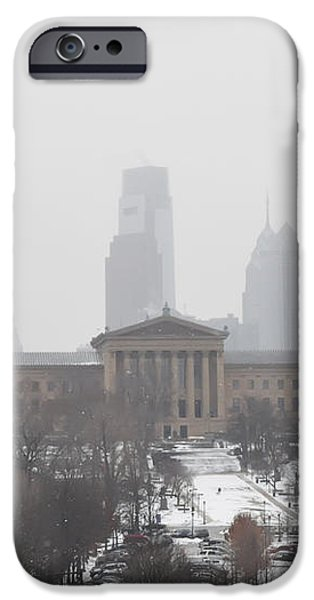 Philadelphia from Lemon Hill iPhone Case by Bill Cannon