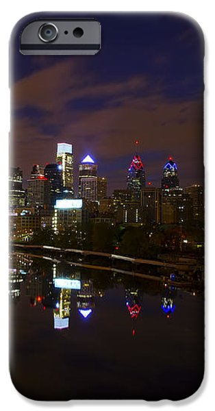 Philadelphia From South Street At Night iPhone Case by Bill Cannon