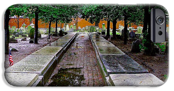 Recently Sold -  - Cemetary iPhone Cases - Philadelphia Graveyard iPhone Case by Ed  Cheremet