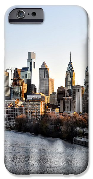 Philadelphia in the Morning Light iPhone Case by Bill Cannon
