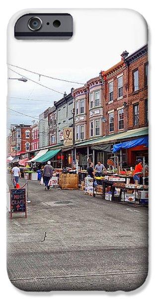 Philadelphia Italian Market 4 iPhone Case by JACK PAOLINI