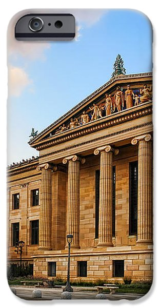 Philadelphia Museum of Art iPhone Case by Olivier Le Queinec