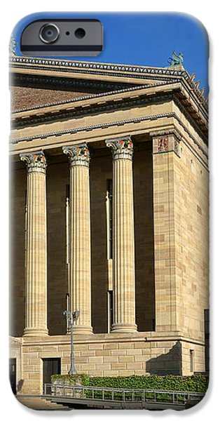 Philadelphia Museum of Art Rear Facade iPhone Case by Olivier Le Queinec