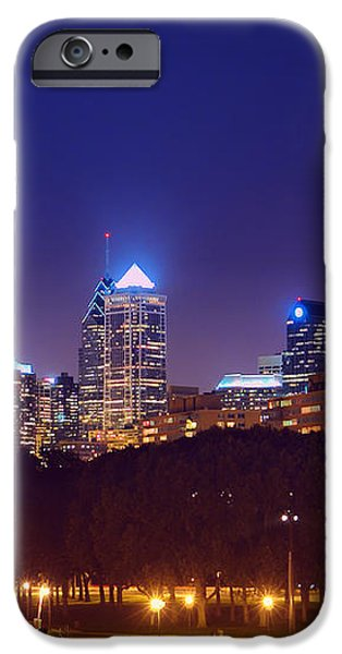 Philadelphia Nightscape iPhone Case by Olivier Le Queinec