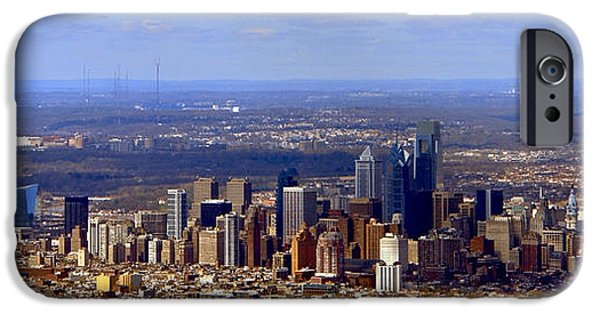 Business iPhone Cases - Philadelphia iPhone Case by Olivier Le Queinec