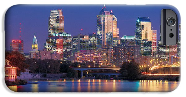 Northeast iPhone Cases - Philadelphia, Pennsylvania iPhone Case by Panoramic Images