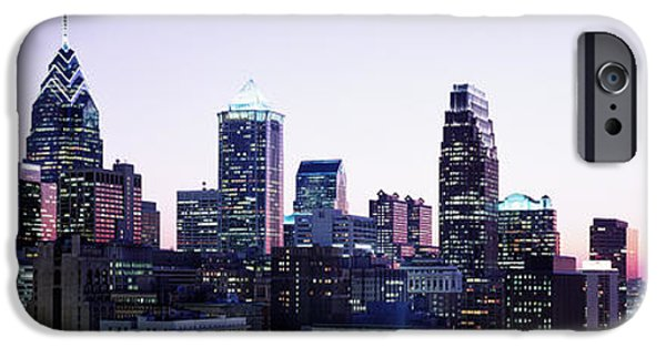Finance iPhone Cases - Philadelphia, Pennsylvania, Usa iPhone Case by Panoramic Images
