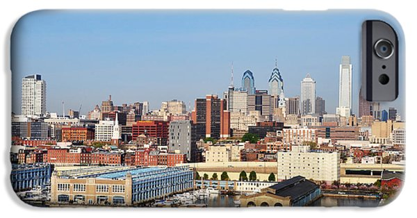 River View iPhone Cases - Philadelphia River View iPhone Case by Bill Cannon