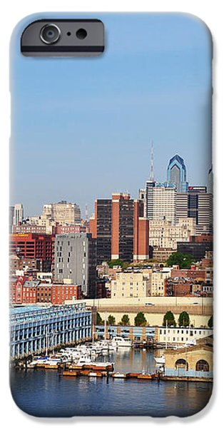 Philadelphia River View iPhone Case by Bill Cannon