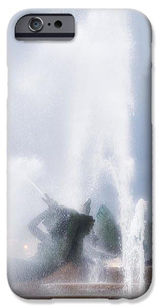 Philadelphia - Swann Memorial Fountain iPhone Case by Bill Cannon