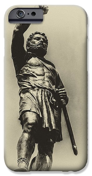 Fontain iPhone Cases - Philip 2 of Macedon iPhone Case by Yevgeni Kacnelson