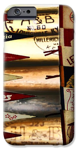 Phillies Pennants iPhone Case by Bill Cannon