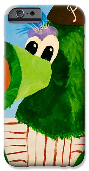 Philly Phanatic iPhone Case by Trish Tritz