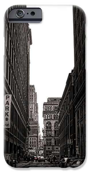 Philly Street iPhone Case by Olivier Le Queinec