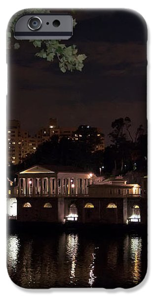 Philly Waterworks at Night iPhone Case by Bill Cannon