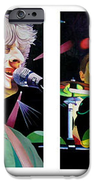 Phish Full Band iPhone Case by Joshua Morton