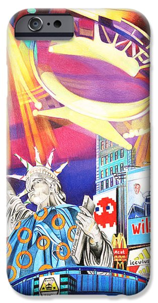 Morton iPhone Cases - Phish New Years in New York Right Panel iPhone Case by Joshua Morton