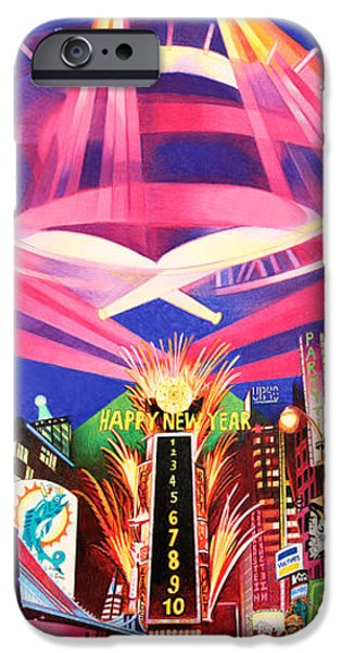 Phish New York for New Years Triptych iPhone Case by Joshua Morton