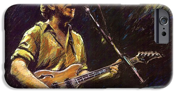 Music Pastels iPhone Cases - Phish iPhone Case by Ylli Haruni