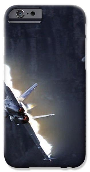 Phoenix Dancing iPhone Case by Angel  Tarantella