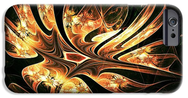Birds iPhone Cases - Phoenix Nest iPhone Case by Anastasiya Malakhova
