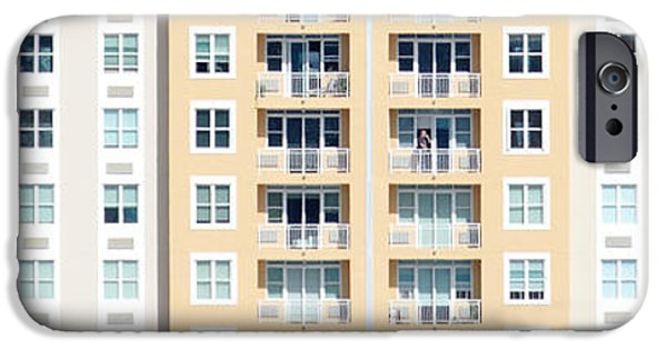 Balcony iPhone Cases - Phone Call on the Balcony iPhone Case by Darin Volpe