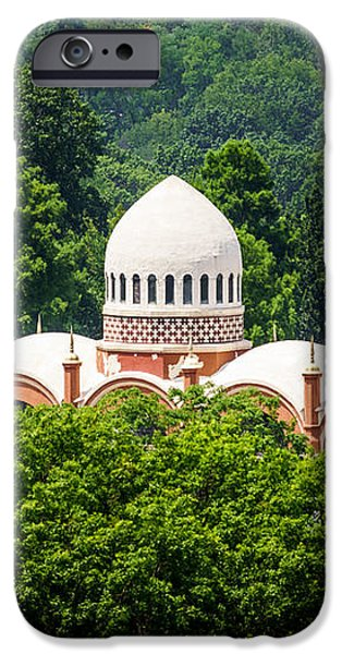 Photo of Elephant House at Cincinnati Zoo iPhone Case by Paul Velgos