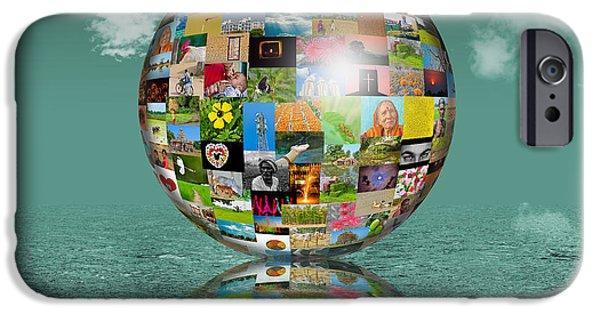 Multimedia iPhone Cases - Photo world iPhone Case by Image World