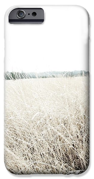Photographic Sketch of a Winter Landscape iPhone Case by Natalie Kinnear