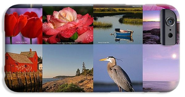 Maine Seacoast iPhone Cases - Photographing Light iPhone Case by Juergen Roth