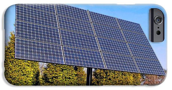 Electrical iPhone Cases - Photovoltaic iPhone Case by Olivier Le Queinec