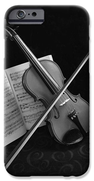 Sheets iPhone Cases - Pianissimo iPhone Case by Kristin Elmquist