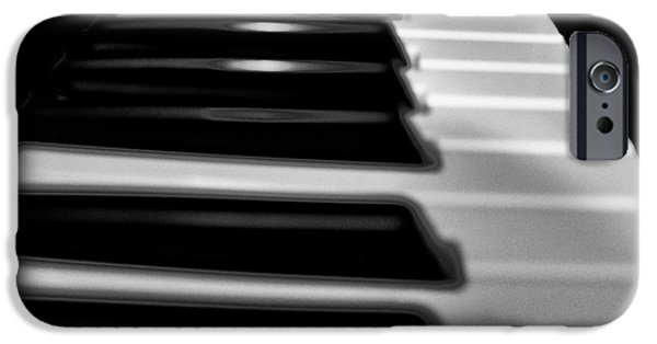 Piano iPhone Cases - Piano iPhone Case by Bill Cannon