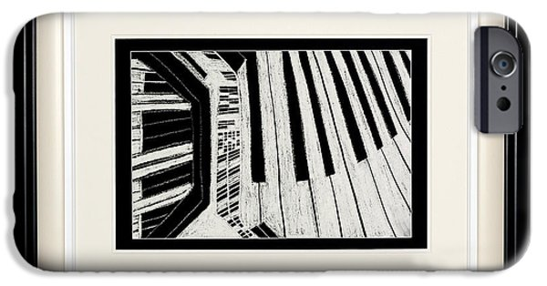 Piano iPhone Cases - Piano City iPhone Case by Oscar Keary