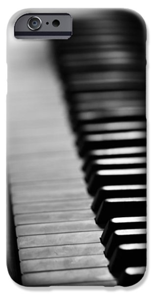 Piano iPhone Cases - Piano Dream b iPhone Case by Jerry Cordeiro