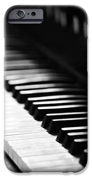 Piano iPhone Cases - Piano Dreams iPhone Case by Jerry Cordeiro