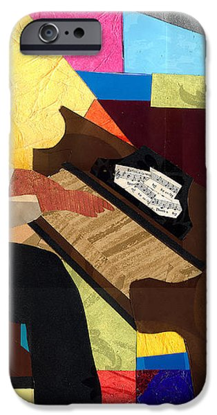 Piano Man 2012 iPhone Case by Everett Spruill