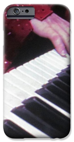 Piano Man at work iPhone Case by Aaron Martens