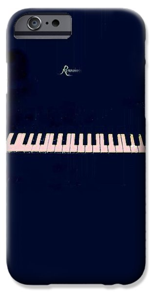 Piano iPhone Case by YoMamaBird Rhonda