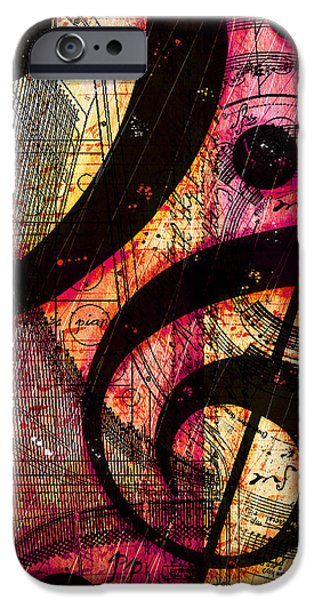Piano Digital Art iPhone Cases - Cleftamania iPhone Case by Gary Bodnar