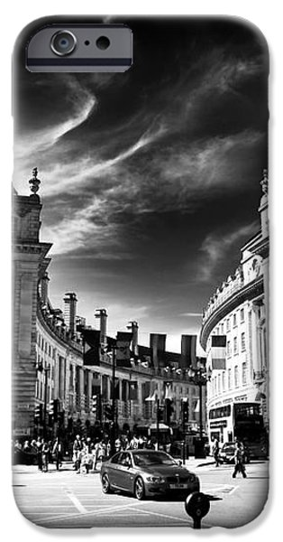 Piccadilly Circus iPhone Case by John Rizzuto